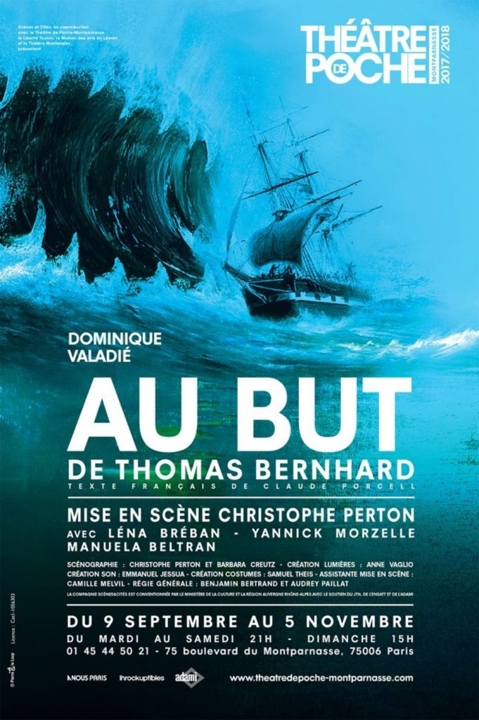 THOMAS BERNHARD - AU BUT