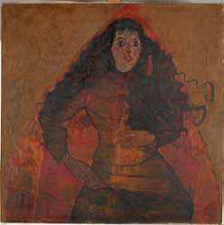 Egon Schiele Portrait Of Trude Engel