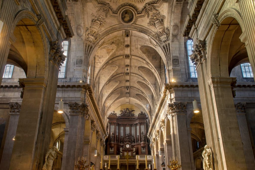 Orgel St. Sulpice By Bastien Milanese [desktop Auflösung]