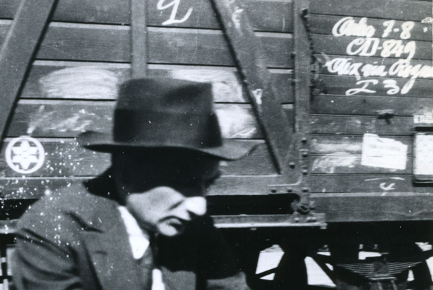 Joseph Roth Waiting On A Train Platform While Traveling In France 1926 Courtesy Of The Leo Baeck Institute New York