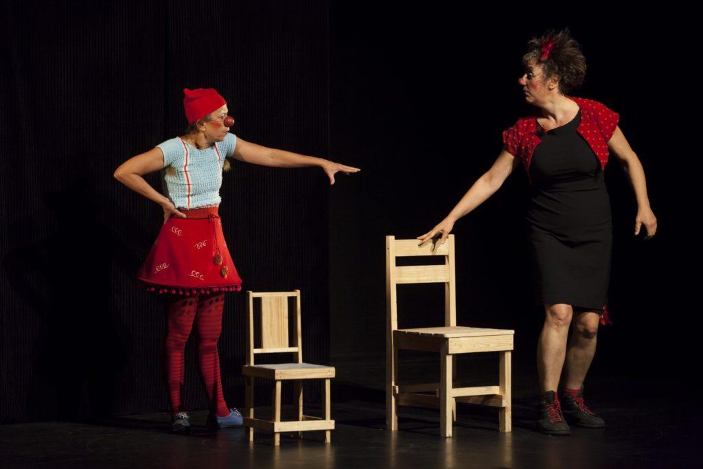 Anna De Lirium et Colette Gomette © rné Figueroa
