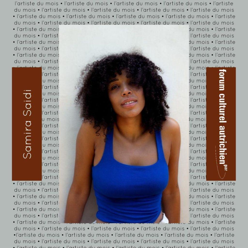 Artiste du mois Samira Saidi